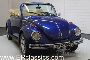 Volkswagen Beetle 1303 Cabriolet 1973 Blue metallic For Sale
