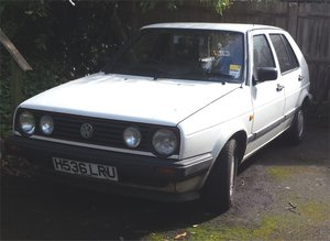 1991 VW Golf Mk 2 4WD Syncro in Excellent Condition For Sale