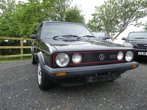 1985 Golf GTI 1.8 MK1 Cabriolet For Sale