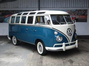 1965 VW 21 Window Micro Bus Samba at ACA 24th August