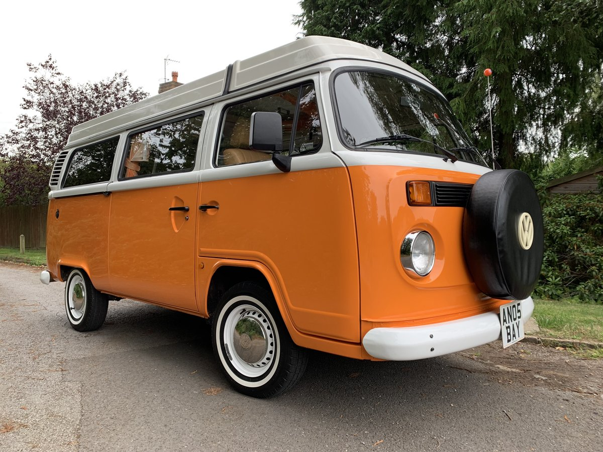 2005 Fabulous Classic Looking Brazilian VW T2 Danbury For Sale (picture 1 of 6)