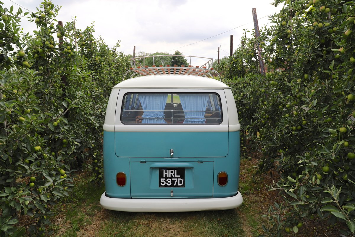 1966 VW Split Screen Camper Van. Right Hand Drive.  For Sale (picture 6 of 6)