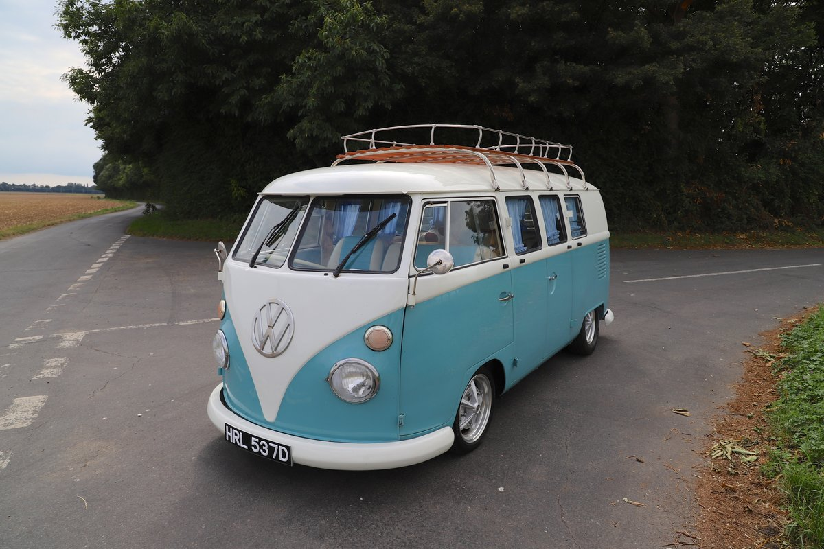 1966 VW Split Screen Camper Van. Right Hand Drive. For Sale (picture 1 of 6)