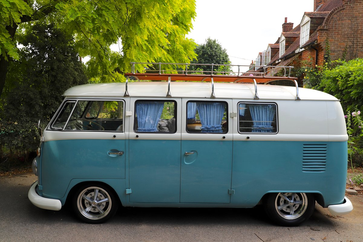 1966 VW Split Screen Camper Van. Right Hand Drive. For Sale (picture 3 of 6)