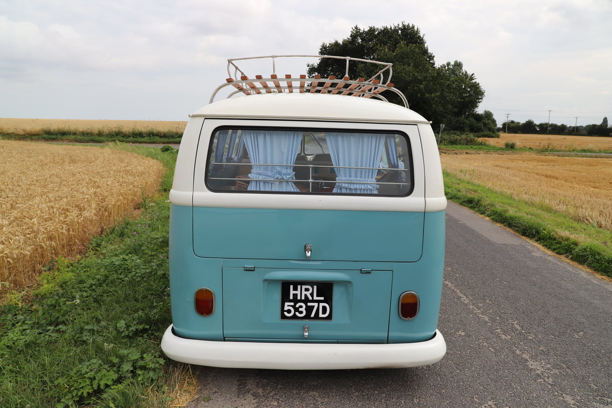 1966 VW Split Screen Camper Van. Right Hand Drive. For Sale (picture 4 of 6)