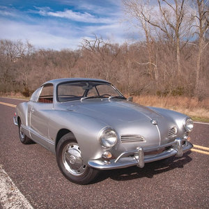 Volkswagen Karmann Ghia Coupe 2+2 Coupe Silver $24.5k For Sale