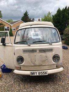 1972 VW T2 Bay Window Campervan
