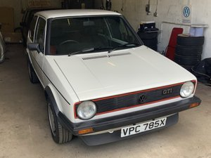 1982 VW Golf 1.6 GTi MKI at ACA 24th August  For Sale