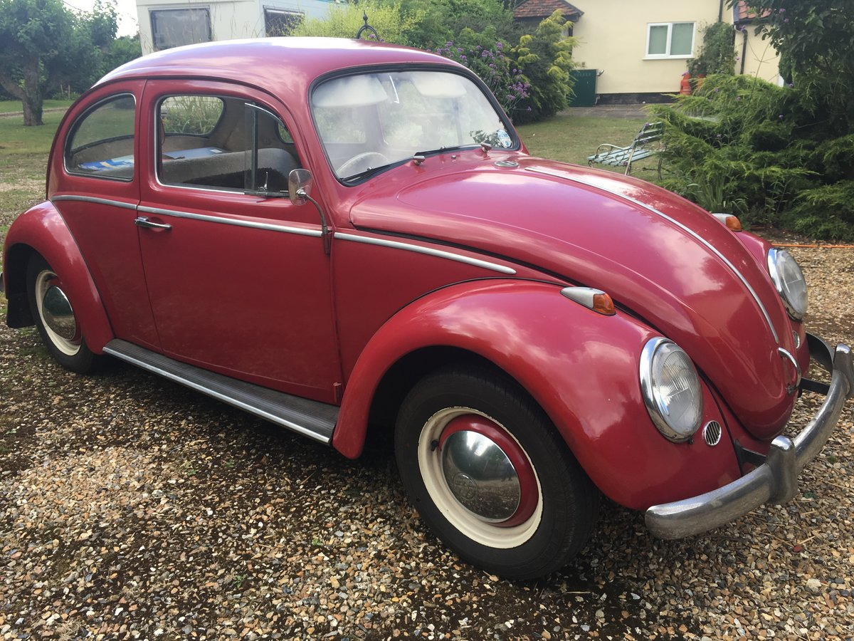 1963 Original VW Beetle SOLD (picture 1 of 6)