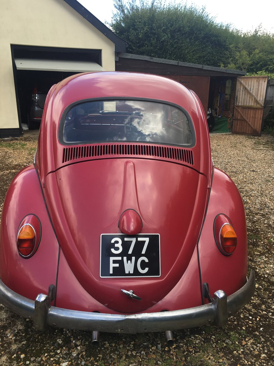 1963 Original VW Beetle SOLD (picture 3 of 6)