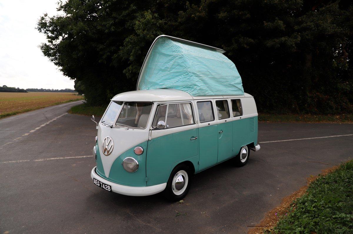 1964 VW Split Screen Camper Van. RHD. Fully Restored. For Sale (picture 1 of 6)