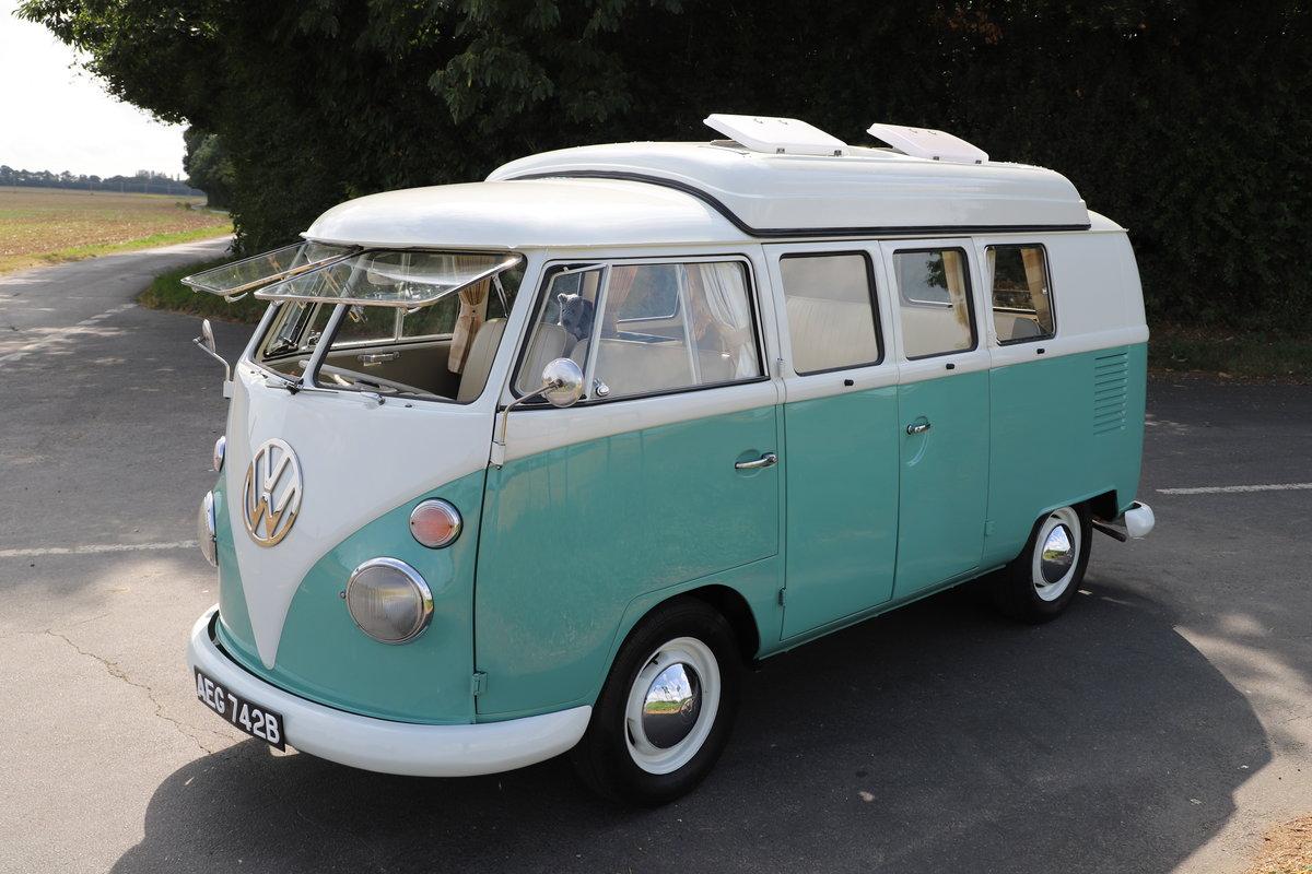 1964 VW Split Screen Camper Van. RHD. Fully Restored. For Sale (picture 2 of 6)