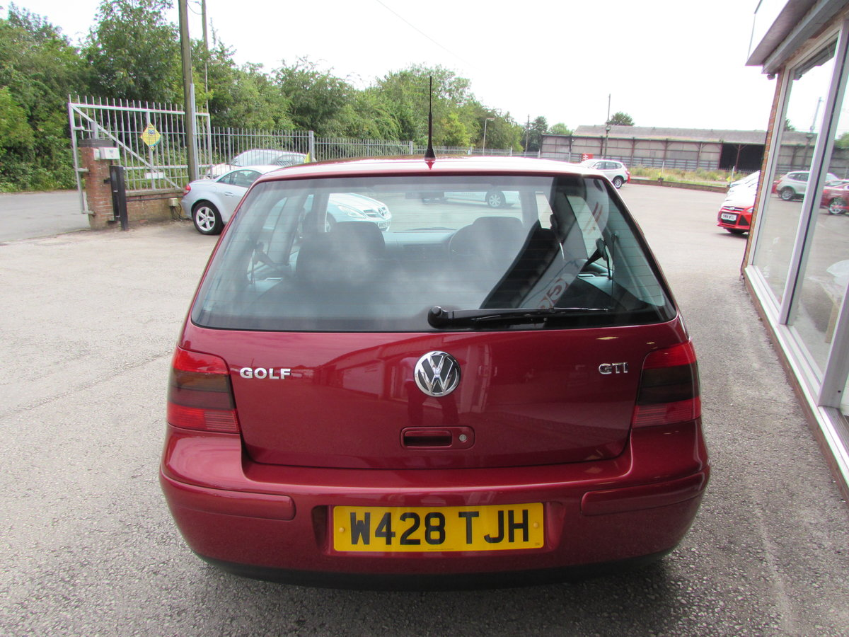2000 Volkswagon Golf GTi 1 Lady owner 35360 Miles !!! For Sale (picture 3 of 10)