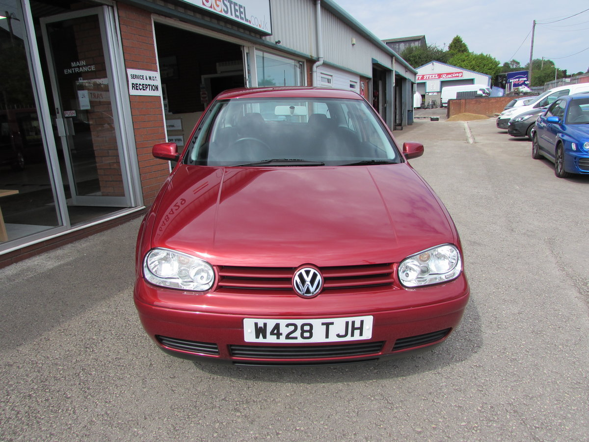2000 Volkswagon Golf GTi 1 Lady owner 35360 Miles !!! For Sale (picture 4 of 10)