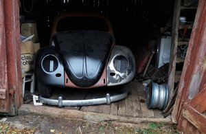 1955 VW Beetle Oval Ragtop For Sale