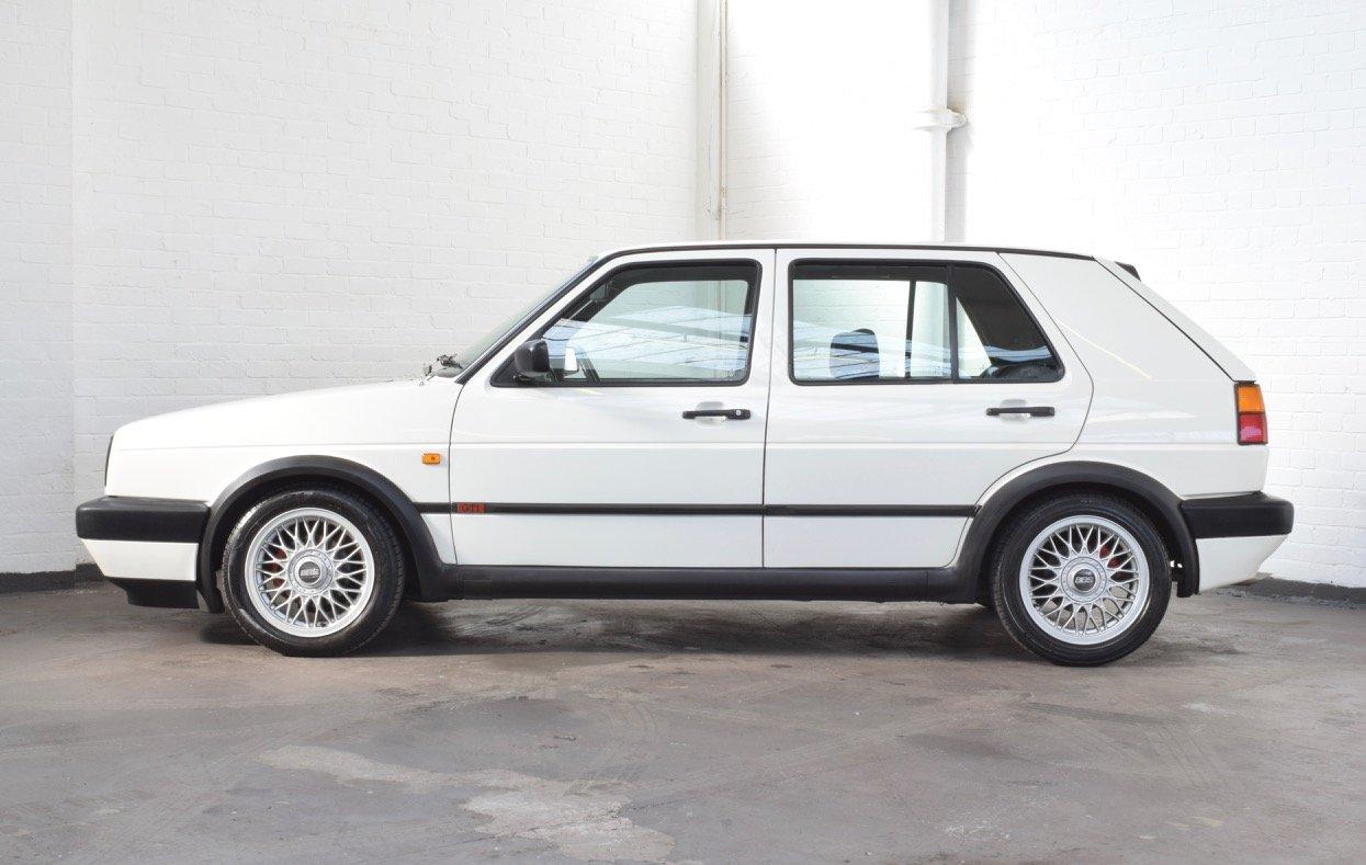VW VOLKSWAGEN GOLF MK2 GTI 8V 5DR WHITE 1991 SUMMER SALE! SOLD (picture 4 of 17)
