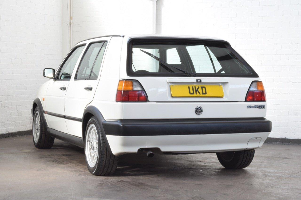 VW VOLKSWAGEN GOLF MK2 GTI 8V 5DR WHITE 1991 SUMMER SALE! SOLD (picture 5 of 17)