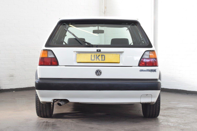 VW VOLKSWAGEN GOLF MK2 GTI 8V 5DR WHITE 1991 SUMMER SALE! SOLD (picture 6 of 17)