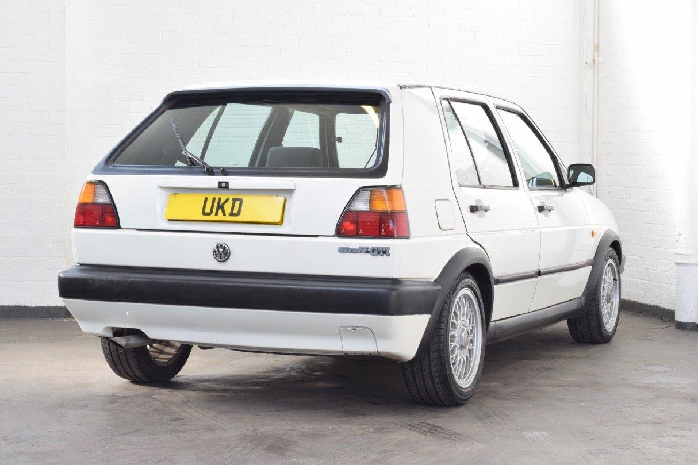 VW VOLKSWAGEN GOLF MK2 GTI 8V 5DR WHITE 1991 SUMMER SALE! SOLD (picture 7 of 17)