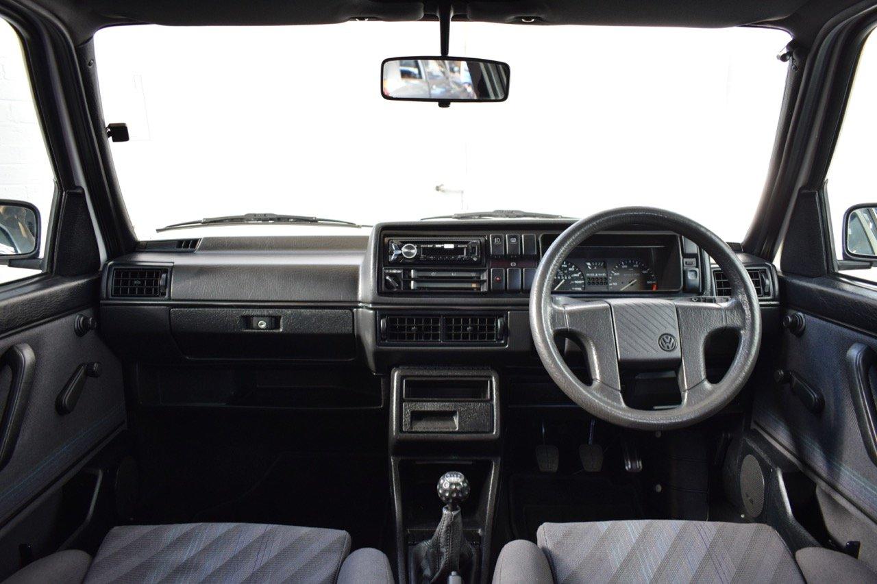 VW VOLKSWAGEN GOLF MK2 GTI 8V 5DR WHITE 1991 SUMMER SALE! SOLD (picture 17 of 17)