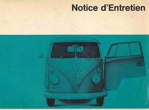 Owner's manual / notice d'entretien For Sale