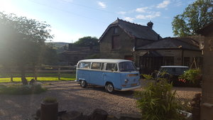 1971 vw early bay tin top lhd campervan  For Sale