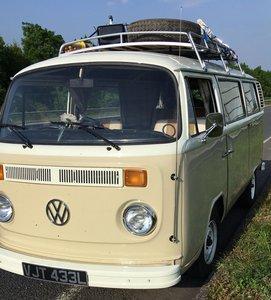 1973 Beautifully Restored VW Camper