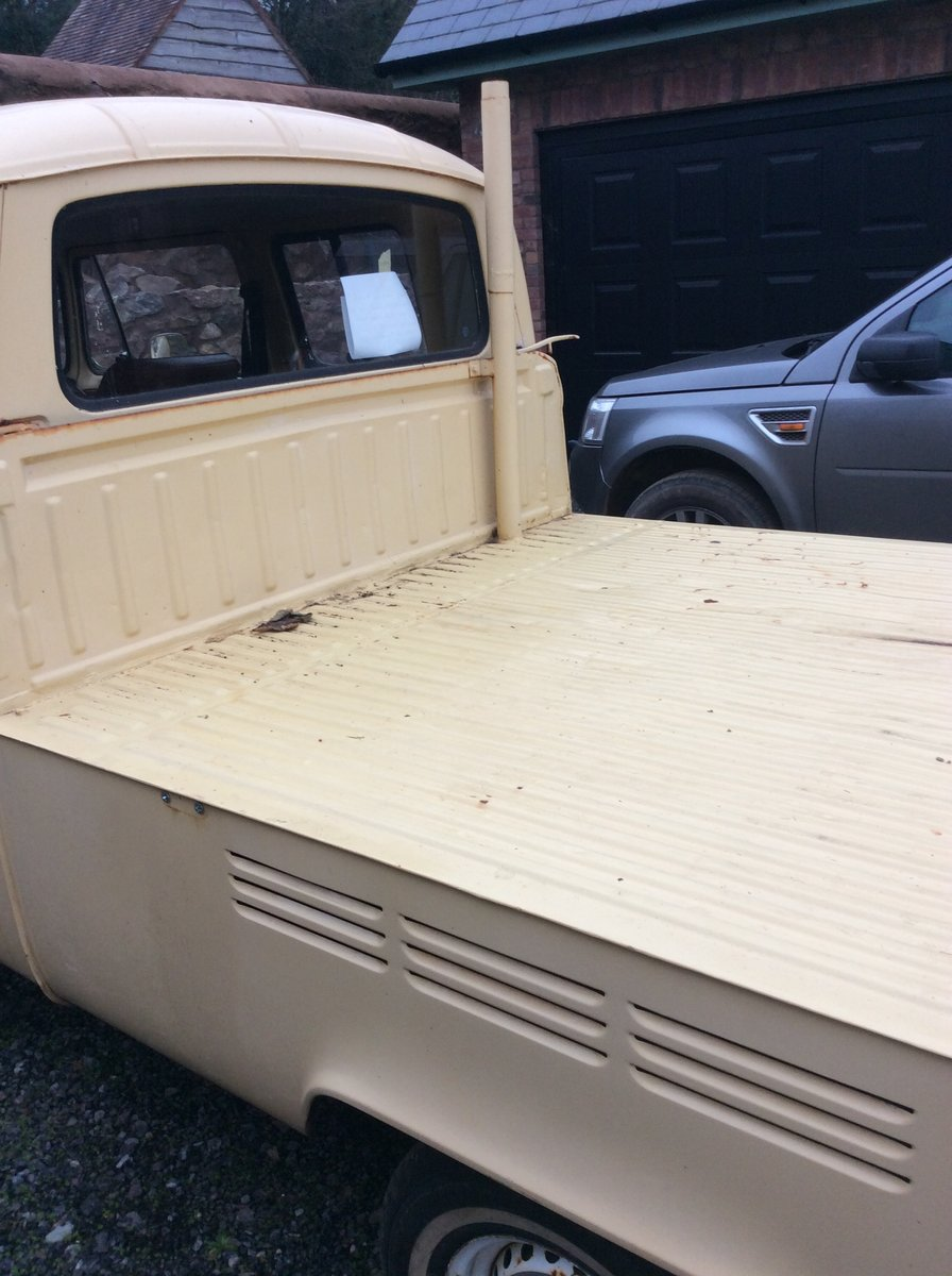 """1978 VW T2 """"Dokker"""" Double Cab Pick-up Rare RHD For Sale (picture 4 of 6)"""