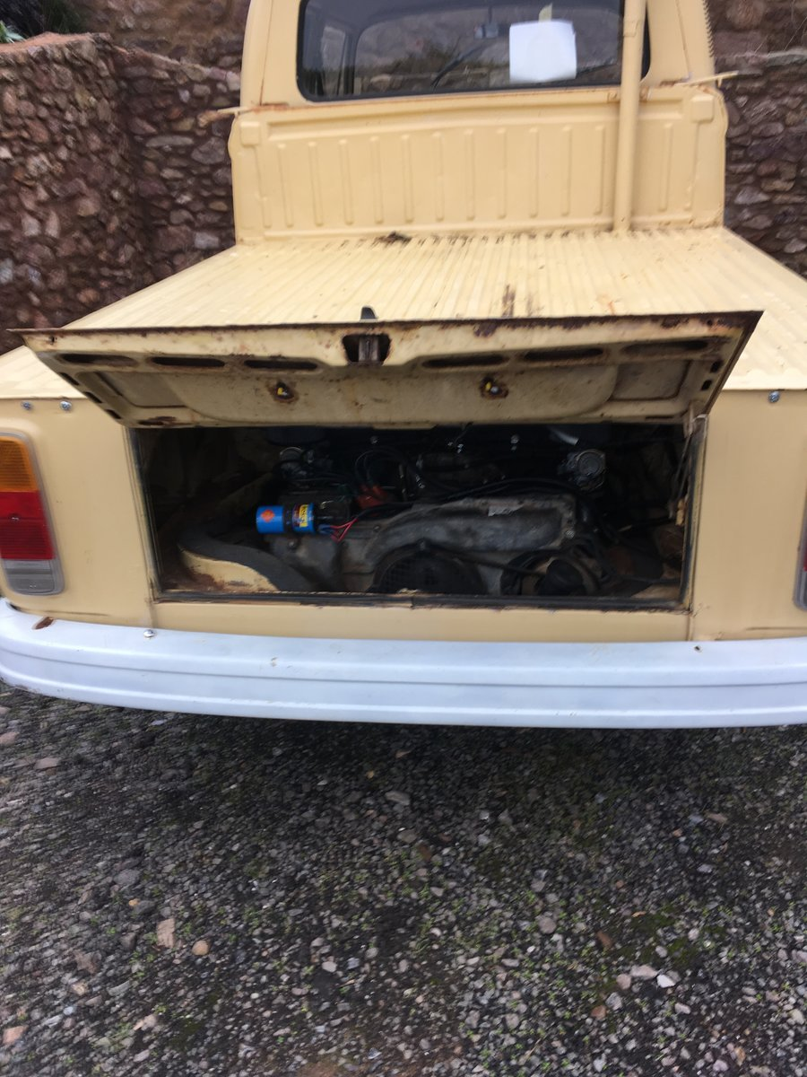 """1978 VW T2 """"Dokker"""" Double Cab Pick-up Rare RHD For Sale (picture 5 of 6)"""