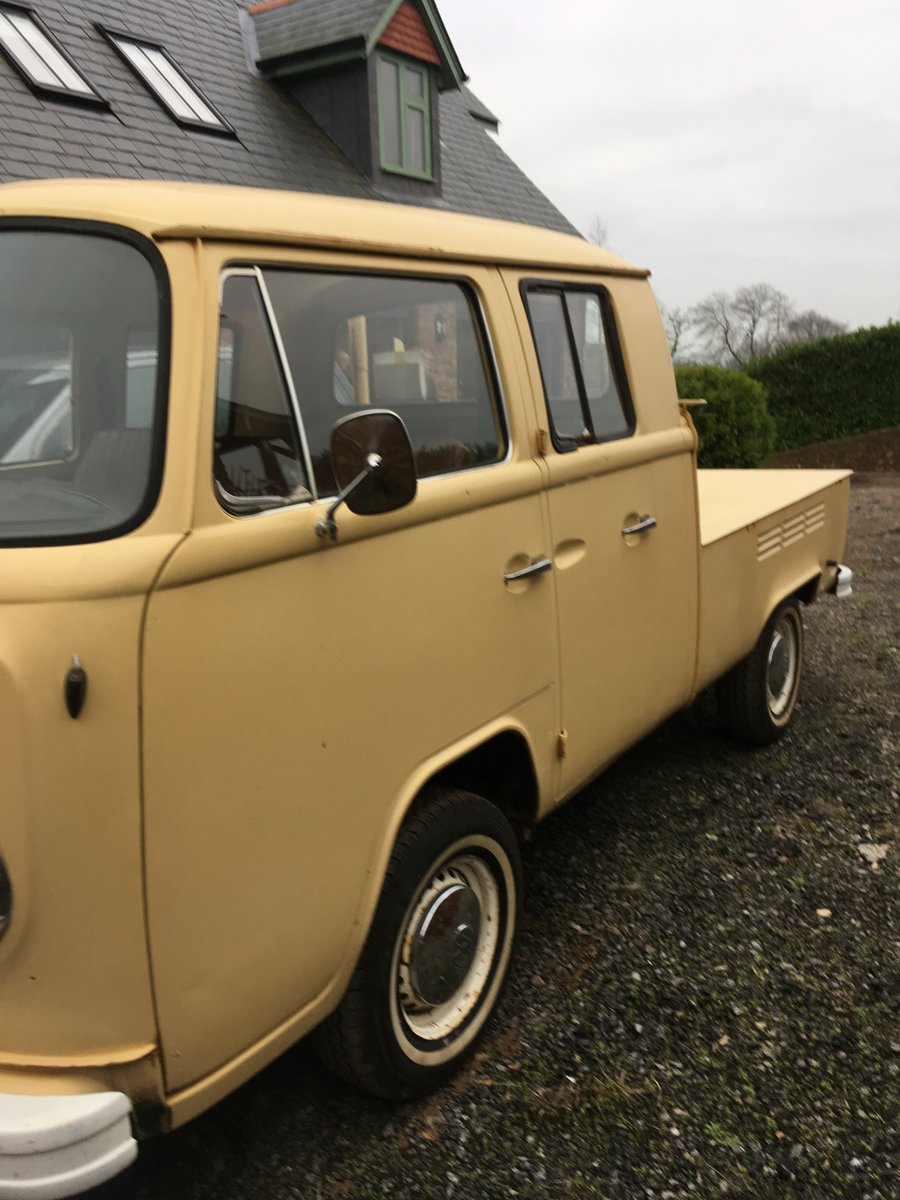 """1978 VW T2 """"Dokker"""" Double Cab Pick-up Rare RHD For Sale (picture 6 of 6)"""