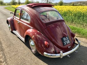 1959 Classic VW Beetle Golde Sunroof (Ragtop) LHD  For Sale