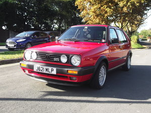 "1992 Golf GTi Tornado Red 5 Door. A little ""Gem"" ! For Sale"