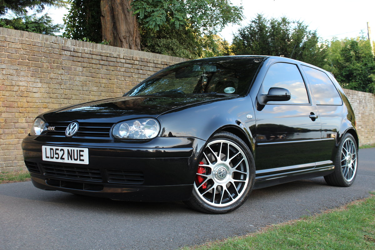 2002 Golf GTI 25TH Anniversary 1.8T *SOLD SIMILAR REQUIRED* SOLD (picture 4 of 6)