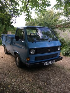 1984 VW T25 drop side pickup