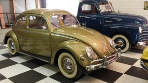 1957 VW Beetle Restored Awesome Bug