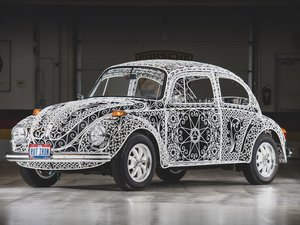 "1970 Volkswagen Beetle ""Casa Linda Lace"" by Rafael Esparza-P For Sale by Auction"