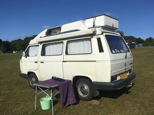 1990 Caravelle 1.9 cc 2 berth camper ready to go!