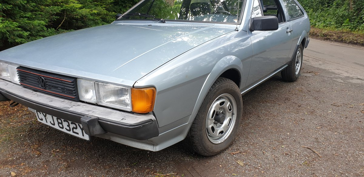 1983 LHD VW Scirocco GTi -- very original 2 owners  SOLD (picture 1 of 6)