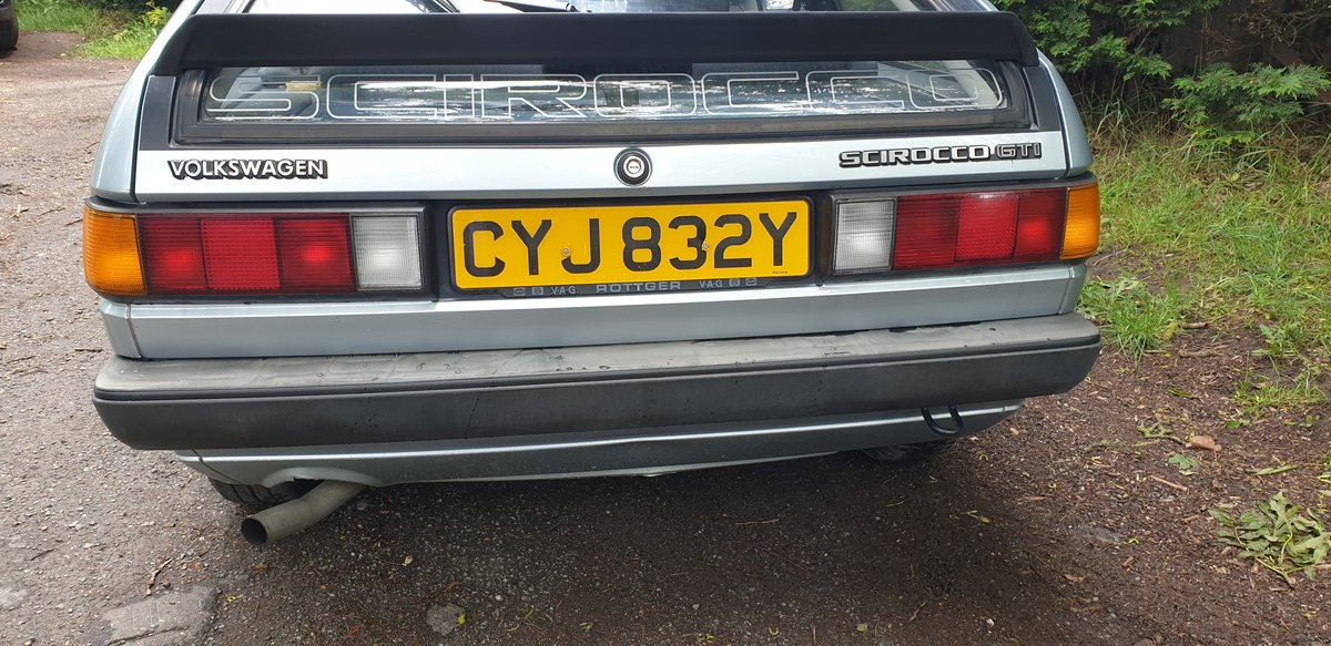 1983 LHD VW Scirocco GTi -- very original 2 owners  SOLD (picture 3 of 6)