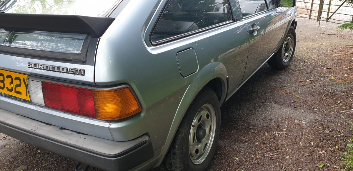 1983 LHD VW Scirocco GTi -- very original 2 owners  SOLD (picture 6 of 6)