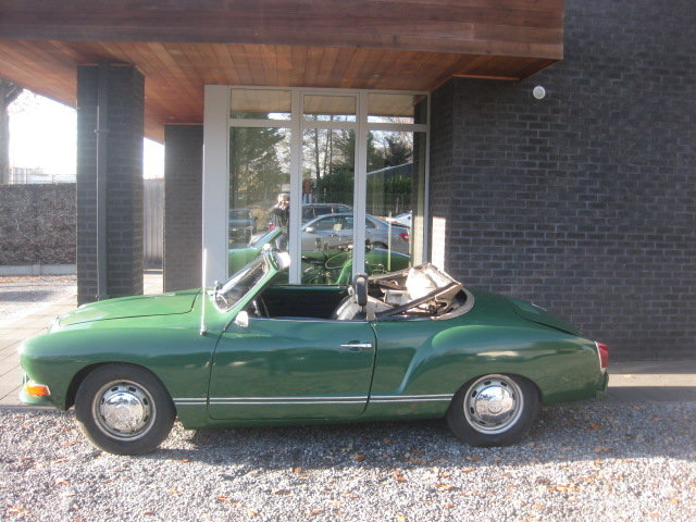 VW Karmann Ghia cabrio Model 1969 For Sale (picture 1 of 6)