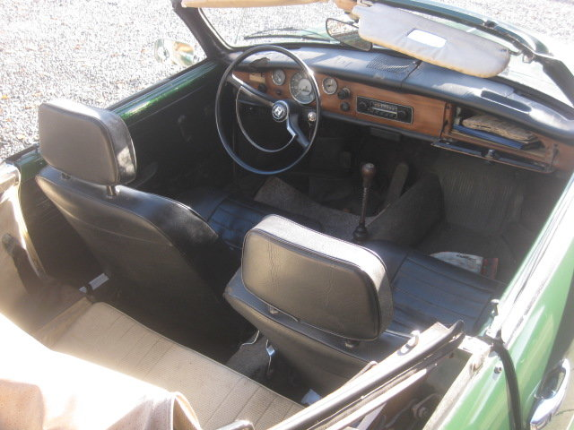 VW Karmann Ghia cabrio Model 1969 For Sale (picture 3 of 6)