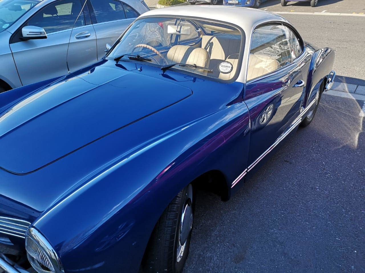1966 KARMANN GHIA RHD  For Sale (picture 1 of 5)