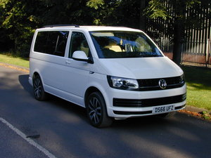 2107 VW TRANSPORTER T6 T28 2.0 TDi - DAY VAN / MULTIVAN - HI SPEC
