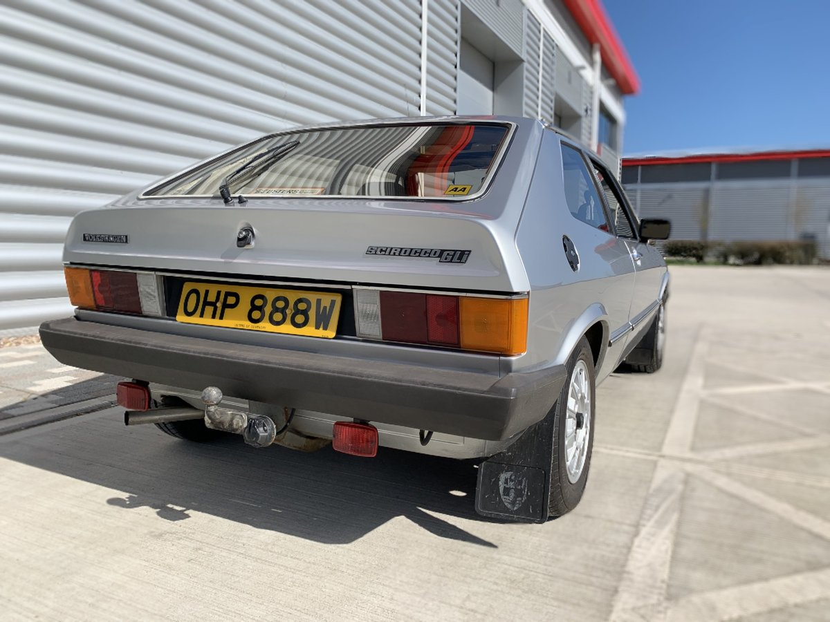 1980 Mk1 VW Scirocco 1600 GLi  Very Rare Original  SOLD (picture 6 of 6)
