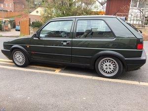 1991 VW golf mk2 gti 16v, 3 door Oak green  For Sale
