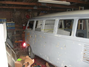 1973 VW. Volkswagen. Split screen camper.. Project. For Sale