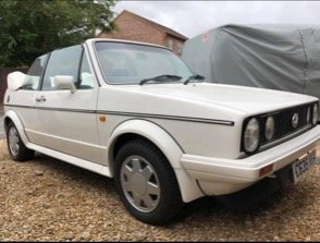 1986 Mk1 golf Triple white gti  For Sale
