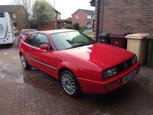 1989 vw corrado 1.8 16v red For Sale