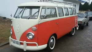 1975 VW bus 15 window Brazilian  For Sale